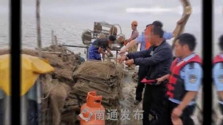 禁渔期顶风作案,启东警方刑拘3名非法捕捞犯罪嫌疑人