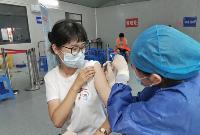 南通首家交通枢纽疫苗接种点启用