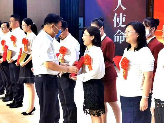 南通举行庆祝第37个教师节大会