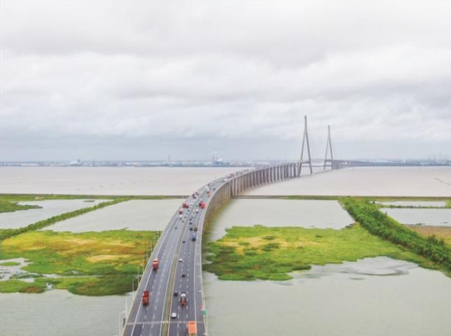 苏通大桥全线恢复通行