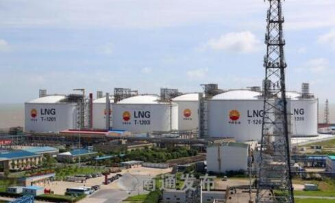 为冬季保供,洋口港20万立方米LNG储罐即将投产