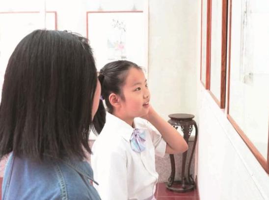 南通个簃艺术馆举办中学生画展