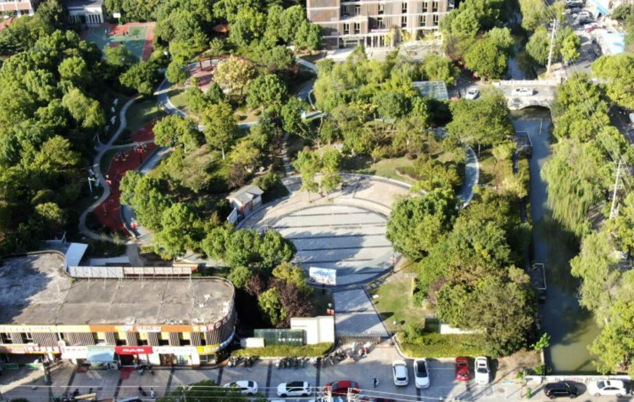 市民休闲健身好去处,国庆假期的学田公园更靓了