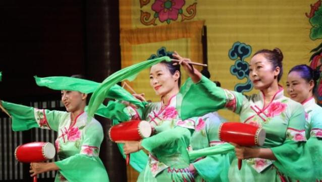 海安市歌舞剧团精彩节目伶工学社上演